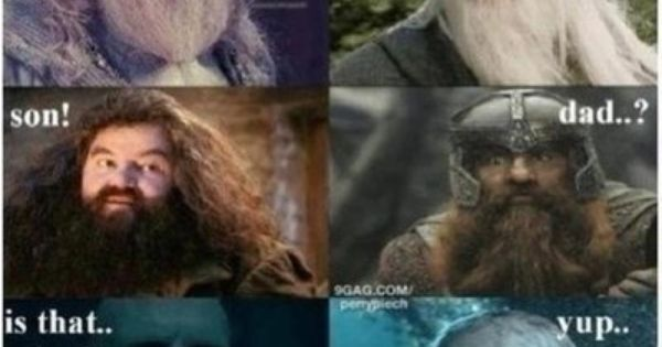 I think Dumbledore would be Gandalf's son... JUST SAYIN'