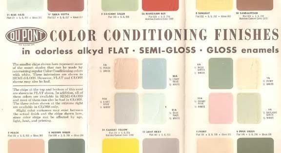 Gamme de couleur de peinture retro pour la maison gamme de couleur pinter - Echantillon de peinture pour la maison ...