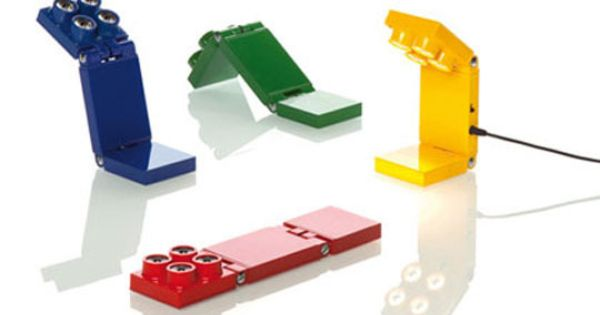 Lego Inspired Lamps From Luxit Led Design E Criancas