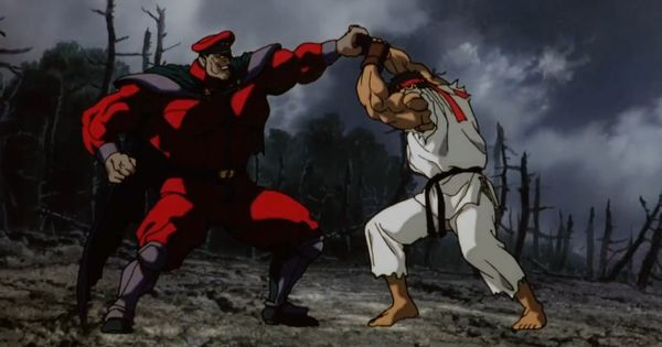 My Neighbor Totoro Roar: Street Fighter II The Animated Movie M. Bison Vs Ryu & Ken