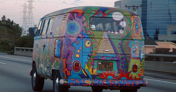 Hippie Vw 2 By Marshall Astor Food Fetishist Via Flickr