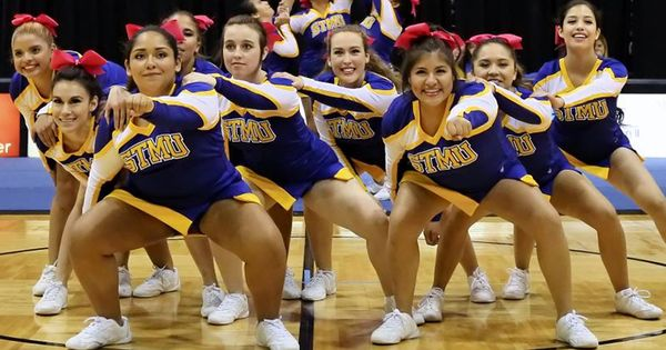 St Mary S Cheerleaders Are Not Only Leaders On The Court Or Field But Also Role Models In The Classroom And Community Cheerleading Athletic Events Role Models