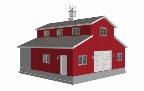 Affordable barn style home plans 316229 barn blueprints for Affordable barn homes