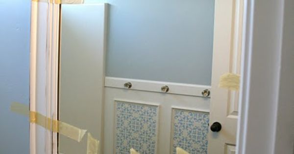 BATHROOM MIRROR MAKEOVER. This is something easy you can do to dress