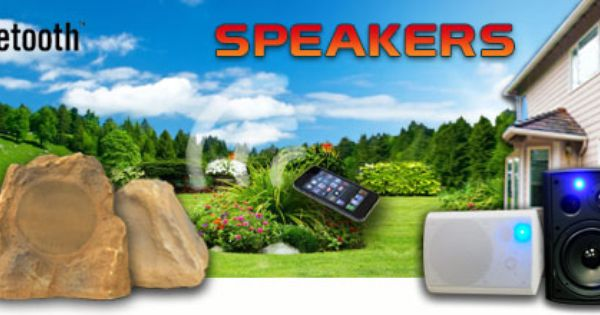 Free Shipping These Wireless Indoor Outdoor Speakers Offered By Av Express Are Available Wireless Outdoor Speakers Outdoor Bluetooth Speakers Outdoor Speakers