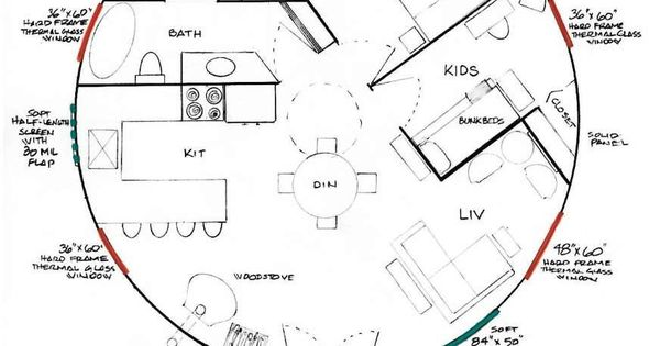 Yurt Floor Plans as well Round House likewise Everything You Need To Know About Yurts besides Earthbag Building in addition Over 1000 Sq Ft. on yurt homes cost