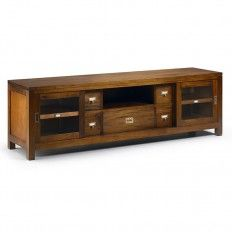 meuble tv design en palissandre salon