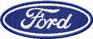 Ford Logo Machine Embroidery Design Machine Embroidery Design Www Embroideres Com Machine Embroidery Designs Ford Logo Embroidery Designs