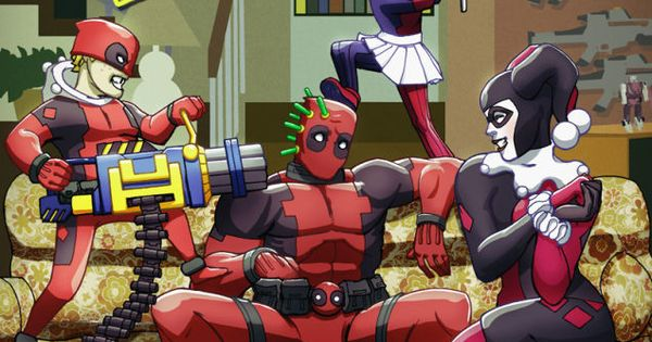 What If Deadpool And Harley Quinn Had Children Marvel Deadpool And Harley Quinn