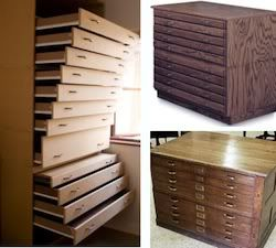 Deep Wide And Shallow Drawers In The