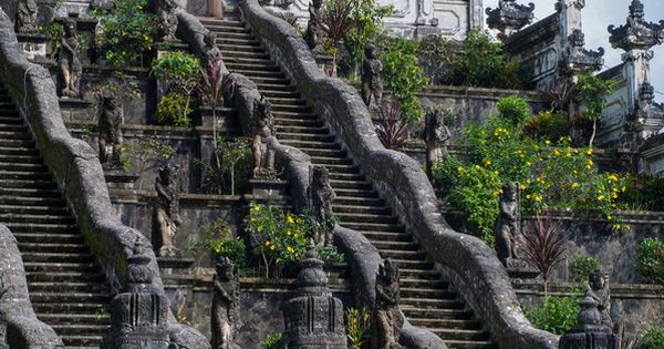 Dream Holiday: Pura Lempuyang, Bali, the holiest Hindu temple, overlooks the sea