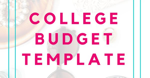 college budget template free printable for students budget template free printable and college. Black Bedroom Furniture Sets. Home Design Ideas