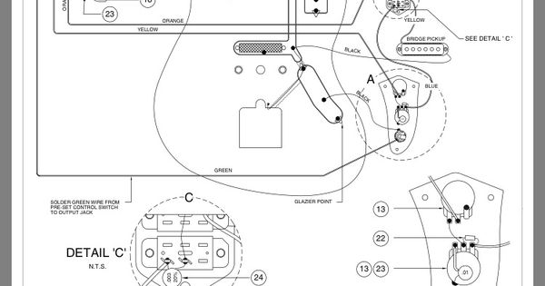 Fender Jaguar Layout And Wiring Diagram Guitar