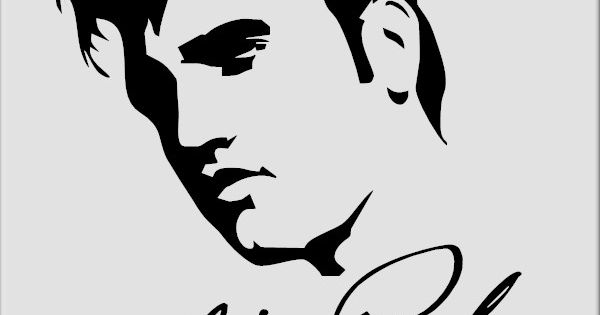 Elvis Presley Sticker No 3 Vinyl Decal Of The King Tcb