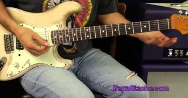 Lead Licks In The Style Of Jimi Hendrix Guitar Lesson Dvd