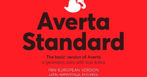 Averta Font – geometric sans serif family with a simplistic, yet appealing, personality