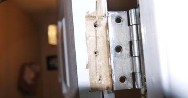 Pin By Kay Morrison On Maintenance Repair Door Frame Repair Door Hinges Doors