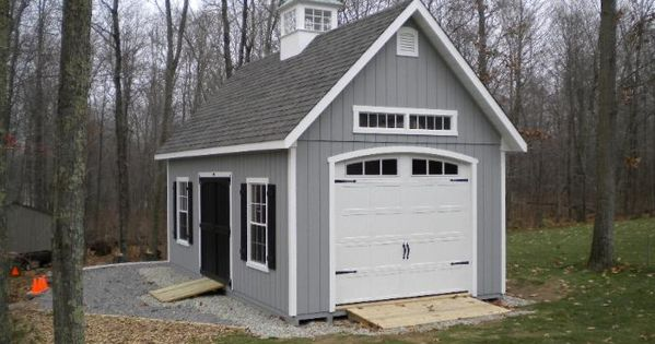 Craftsman style shed with transom window and great door for Craftsman style storage sheds