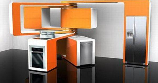 Lo ultimo en cocinas de vanguardia para espacios for Lo ultimo en cocinas