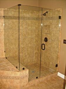 Frameless Shower Clips Vs U Channel Shower Doors Bathroom