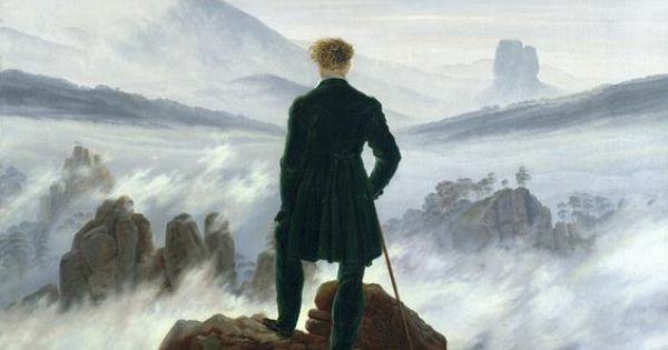 Happy Birthday Caspar David Friedrich! One of our faves: The Wanderer above