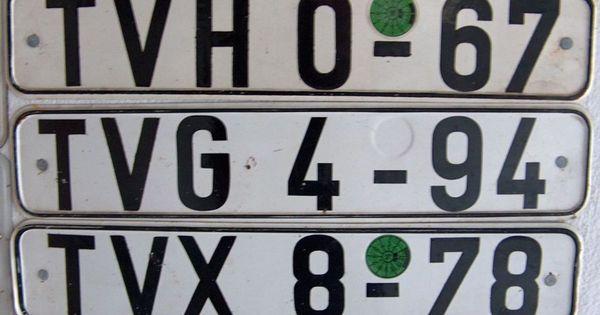 Plates Gdr Liste Der Kfz Kennzeichen Der Ddr 1953 1990