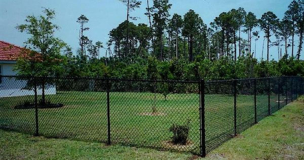 Pin By Tim On Fleetwood Black Chain Link Fence Chain Link Fence