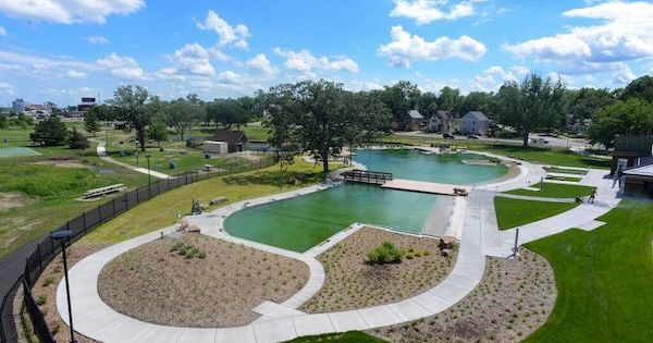 This Public Pool Is Completely Chlorine Free It 39 S Also The First Of Its Kind In The U S The