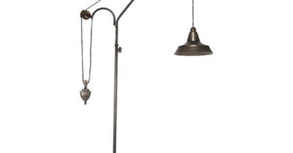 Trent Austin Design Opas Counterbalance 87 Quot Task Floor Lamp Task Floor Lamp Floor Lamp Lamp