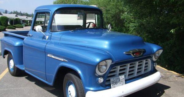 1955 Chevy 1300 57 Chevy Trucks Chevrolet Trucks Classic Truck