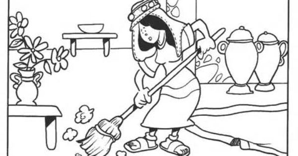 Luke 15 Three Parables Parable Of The Lost Coin Coloring Page