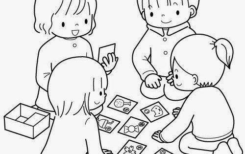 Dibujos Para Colorear Maestra De Infantil Y Primaria: Dibujos Para Colorear. Maestra De Infantil Y Primaria.: El