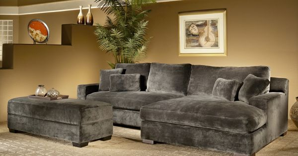 Fairmont designs made to order doris 3 piece smoke for Doris 3 piece sectional sofa