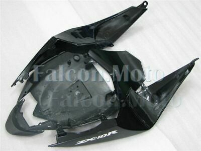 Front Fairing Nose Cowl Plastic Fit For KAWASAKI Ninja ZX10R 2008-2010 Black