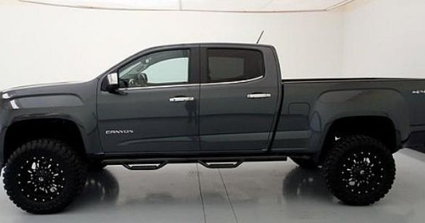 2015 Gmc Canyon 4wd Slt Cyber Gray Metallic Bds Lift Fuel Krank