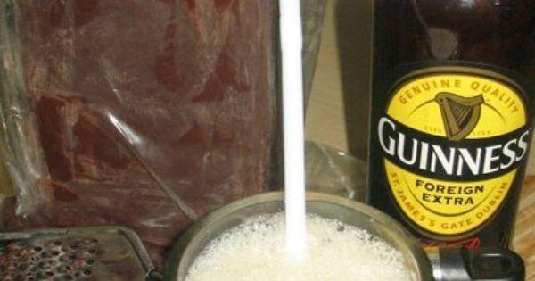 Guinness Chocolate Pudding | Gastronomnomnom (x-post) | Pinterest ...