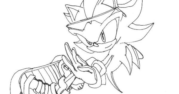 sonic riders coloring pages Free
