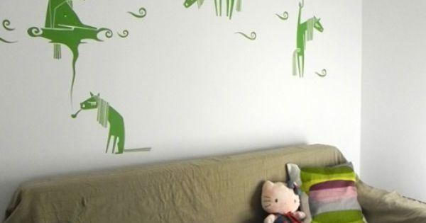 wall stickers bambine : ... horses. Bambini Pinterest Wall Stickers, Stickers and Horses