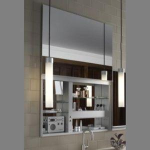 Robern Ruc3627fpl Up Lift Slider Medicine Cabinet Mirror With