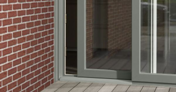Ral 7023 Concrete Grey Sliding Door Windows Pinterest