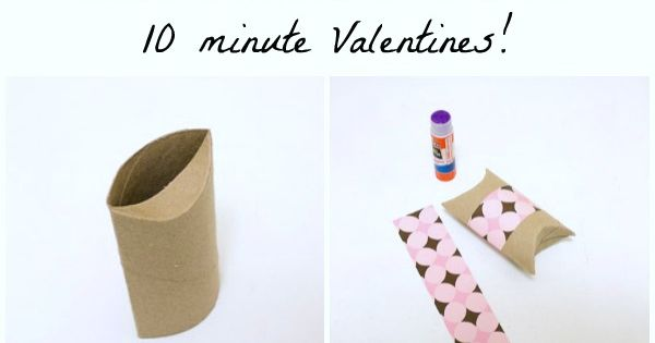 DIY Boxes: Turn an empty toilet paper tube into a pillow box