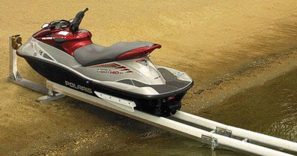 Jet Skis Lift Dismountable Rail System Slide N Go Hewitt Boats