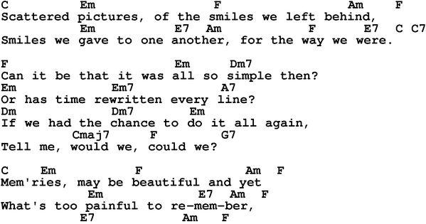 Frank Sinatra, My Way, With Lyrics - YouTube