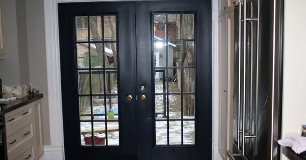 Exterior cheap french doors smart choice for excellent for Black french doors exterior