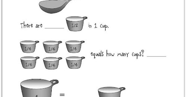 Teaspoons, Tablespoons, Cups, & Gallons. ... How many ...