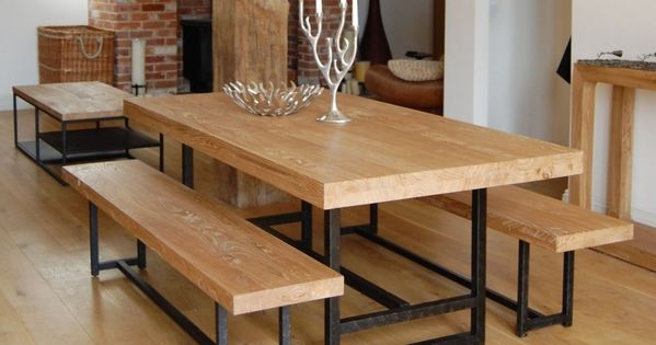 Mesas comedor madera mesa comedor hierro forjado mesa for Comedores hierro forjado