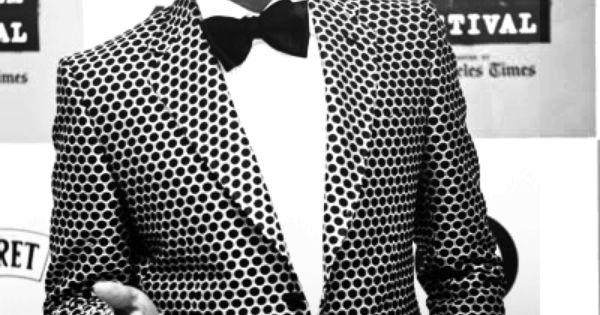 Pharrell Williams + polka dots