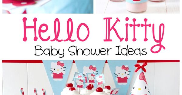 hello kitty baby shower ideas hello kitty baby shower pinterest hello. Black Bedroom Furniture Sets. Home Design Ideas