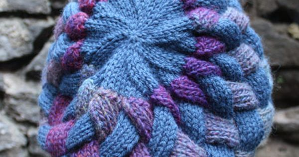 Picking Up Stitches Entrelac Knitting : Entrelac Beret (Knit) More Berets and Knitting patterns ideas