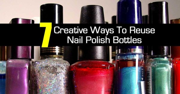 Have you ever wondered what to do with those empty or old for How to renew old nail polish